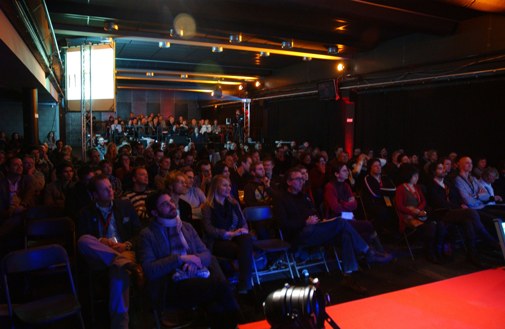 the audience of TEDxEutropolis 2012